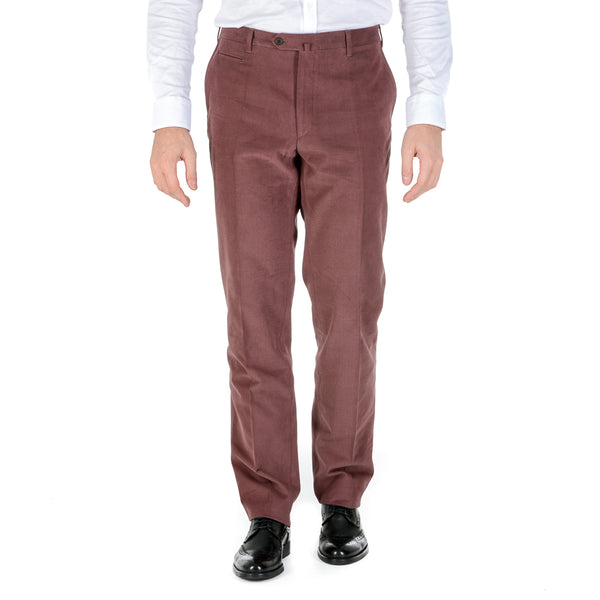 Corneliani Mens Pants Bordeaux