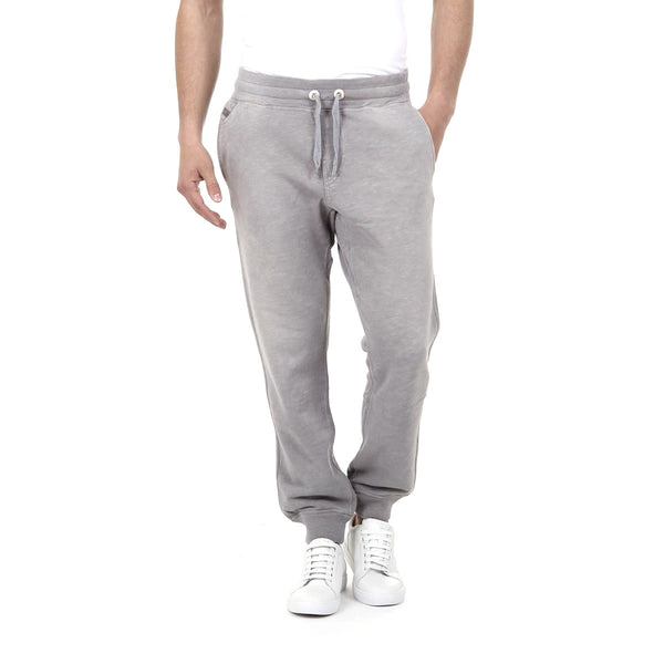 Diesel Mens Grey Cotton Sweatpants