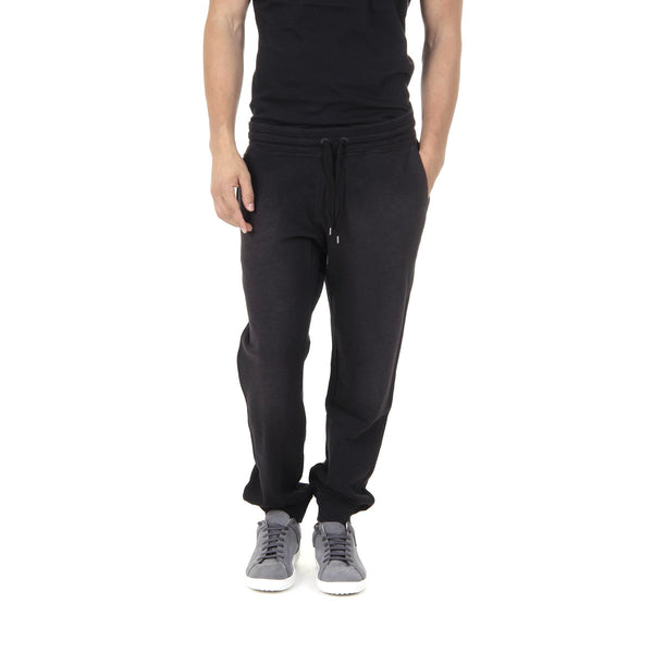 Diesel Mens Black Cotton Sweatpants