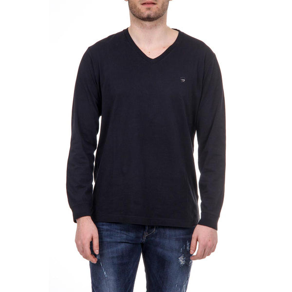 Diesel Mens Black Sweater T-THERAPON-LONG - Sovranity