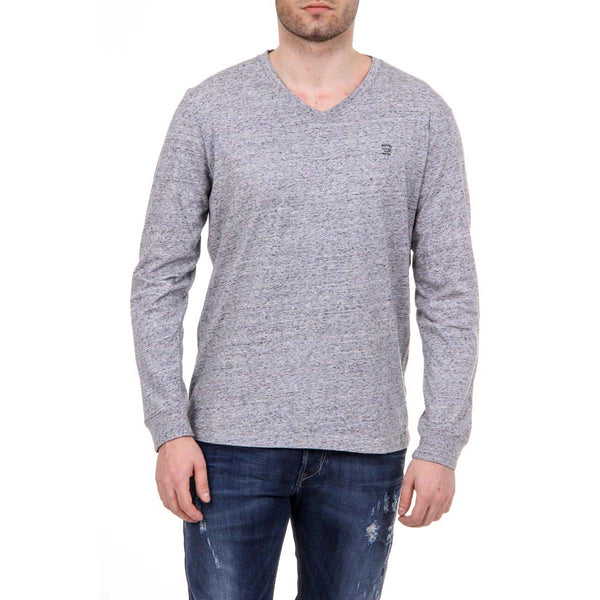 Diesel Mens Grey Sweater T-THERAPON-LONG - Sovranity