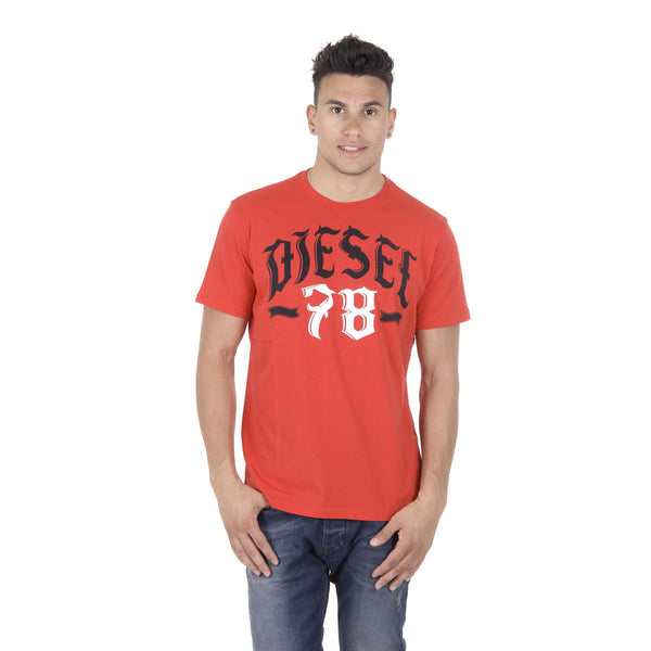 Diesel Mens T-Shirt Short Sleeves Round Neck 00SDG2 0091B 42A T-LONAD