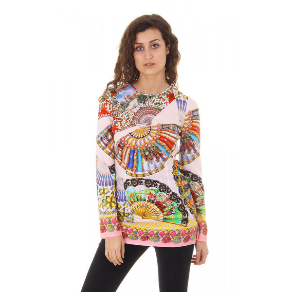 Dolce & Gabbana ladies top long sleeve F7M58T FPAGZ X0800 - Sovranity