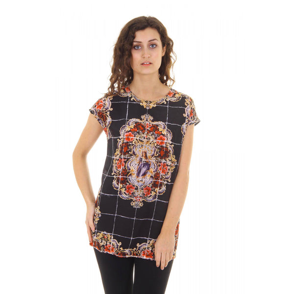 Dolce & Gabbana ladies top short sleeve F7Q08T FP15Y X0800 - Sovranity