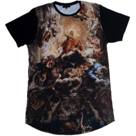 En Noir Triumph Divine Art Mens T-Shirt as seen on Big Sean - VarietasPurses - 1