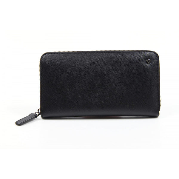 Giorgio Armani ladies black leather wallet