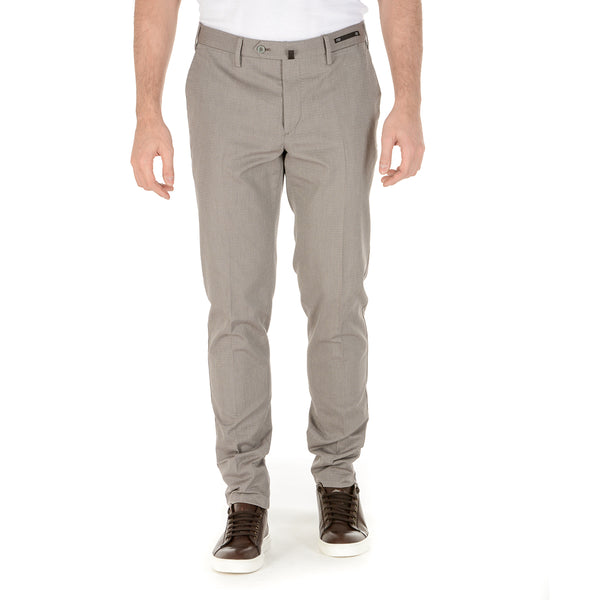 PT01 Mens Pants Taupe BUSINESS
