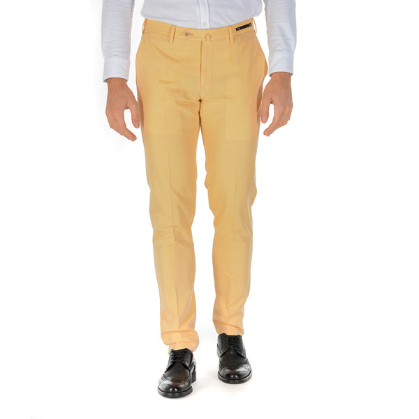 PT01 Mens Pants Yellow BUSINESS