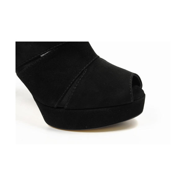 Sebastian Milano ladies ankle boot S4641 CAM SUEDE (Cervino) MC NERO - Sovranity