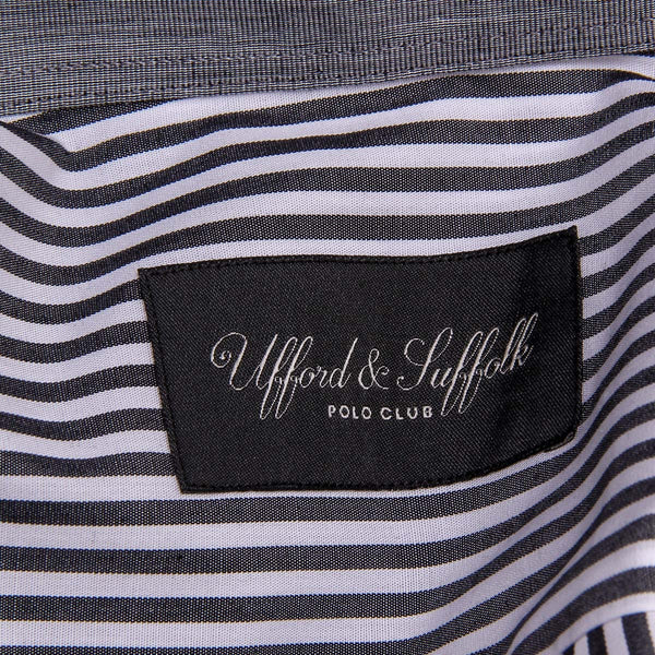 Ufford & Suffolk Polo Club Mens Shirt USC01 A2 NERO - Sovranity