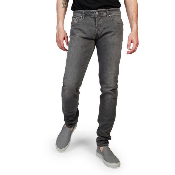 Diesel Mens Grey Jeans SLEENKER L.34