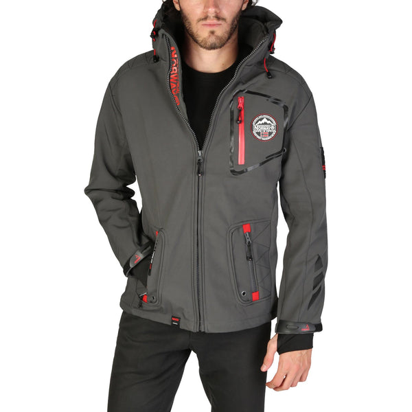 Geographical Norway - Tacebook_man Mens Grey Jacket