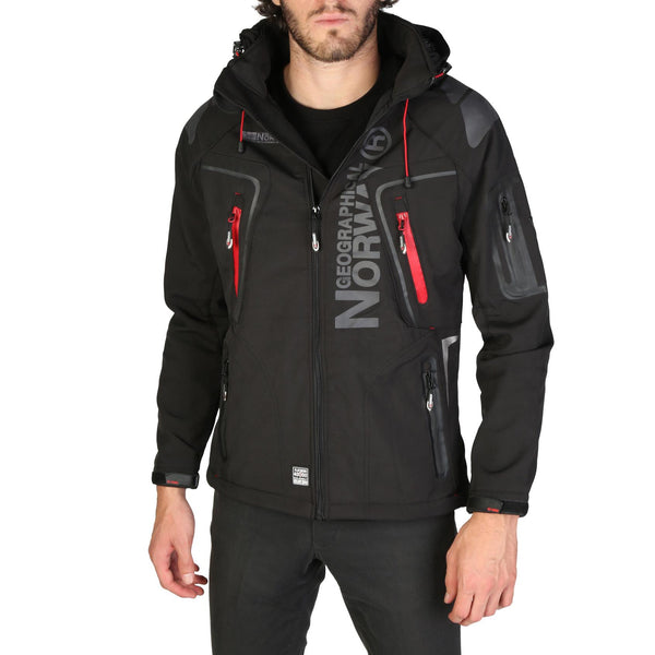 Geographical Norway - Techno_man Black Jacket