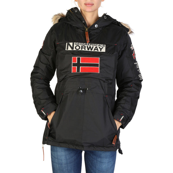 Geographical Norway - Boomera Womens Black Jacket