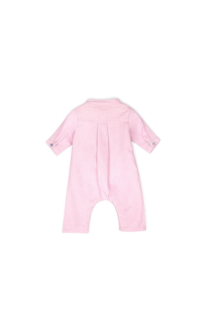 The Nari Babies Jumpsuit - Light Purple