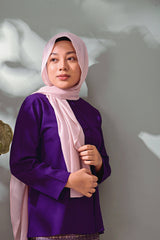 The TENANG Petal Blouse - Purple
