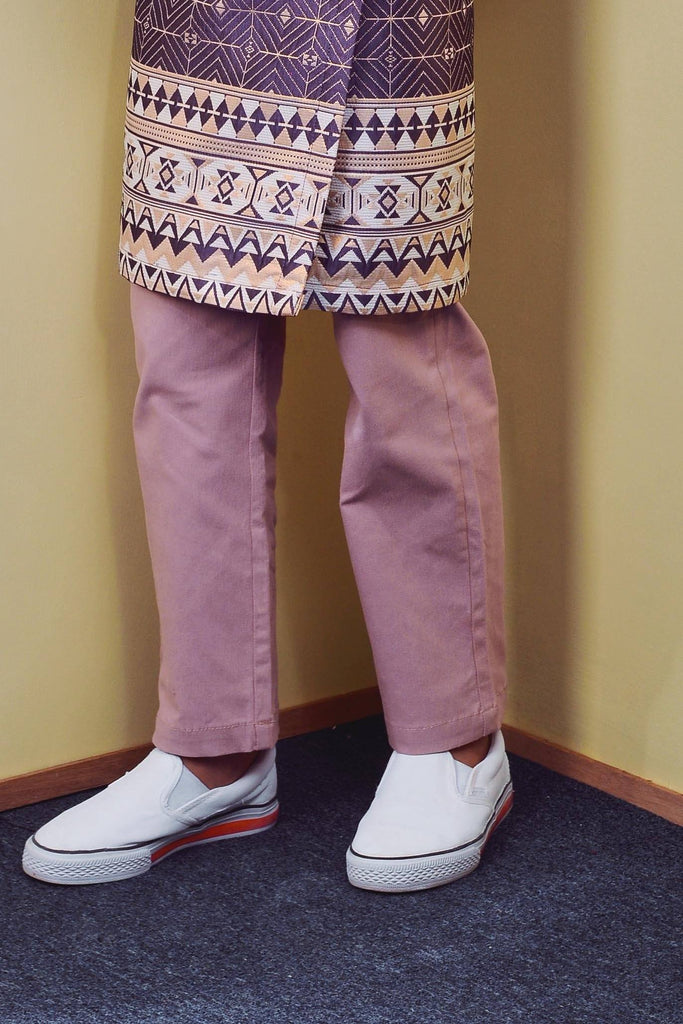The TENANG Tapered Pants - Dusty Pink