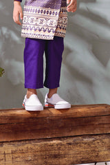 The TENANG Tapered Pants - Purple