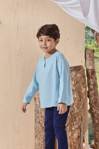 The Balik Kurta - Light Blue