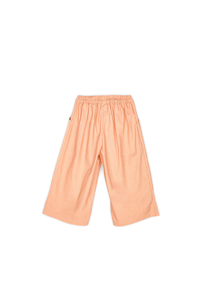 The Nari Overlay Trousers - Peach