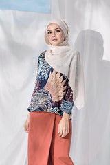 The Langit Women Origami Blouse - Gelam