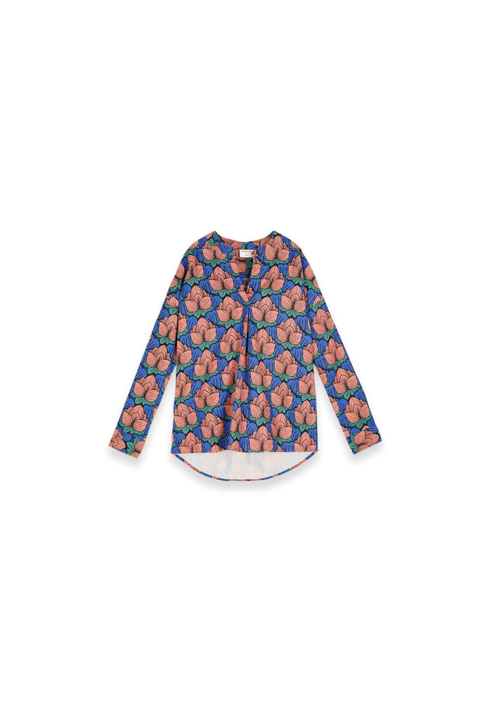 The Teratai Women Boxy Blouse - Secret Pond - POKOKS.COM