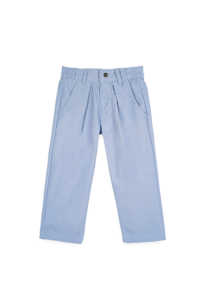 The Bangun Tapered Pants - Light Pigeon Blue