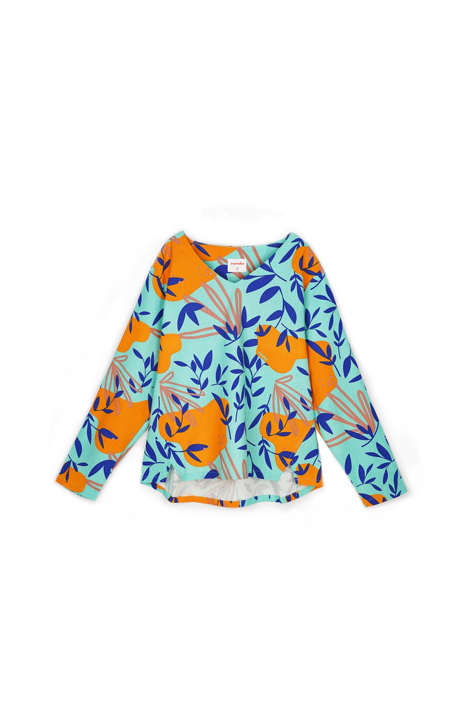 The Nari Women Tunic Kite Blouse - Glory Print