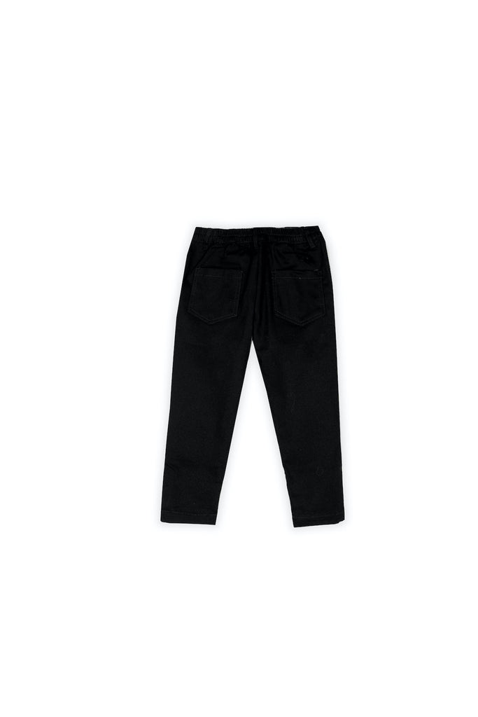The Nari Slim Pants - Black