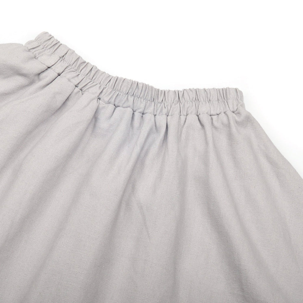 The Pelangi Skirt - Soft Grey