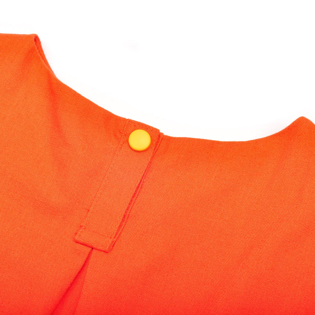 The Pelangi Babies Boxy Top - Orange