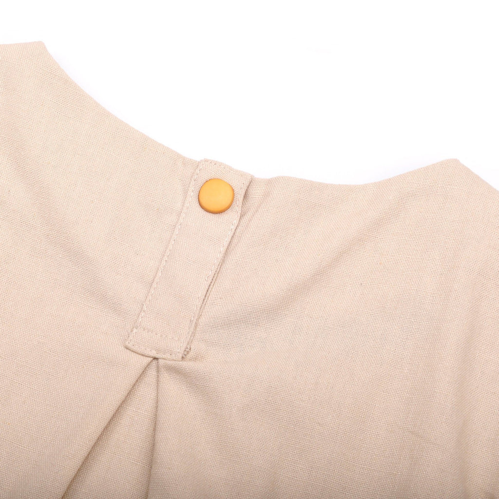 The Pelangi Babies Boxy Top - Cream