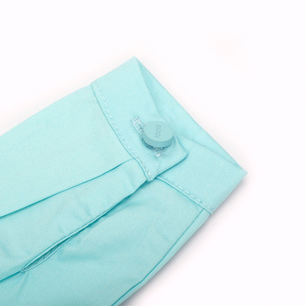The Pelangi Babies Jumpsuit - Tiffany Blue