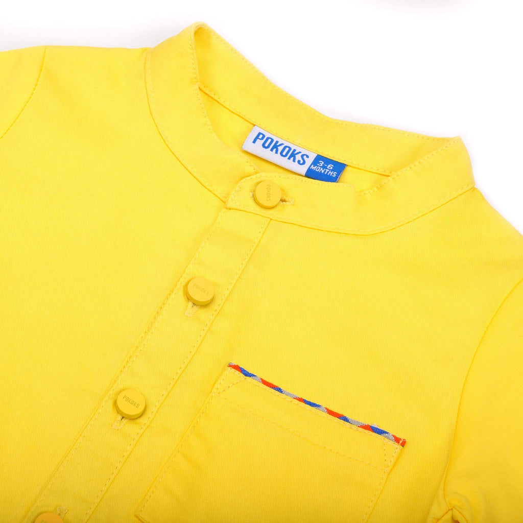 The Pelangi Babies Jumpsuit - Yellow