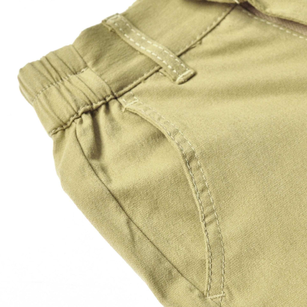The TENANG Tapered Pants - Olive Green
