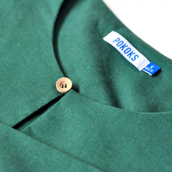 The KITA Men Kurta - Emerald Green