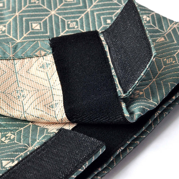 The TENANG Jacquard Samping - Green