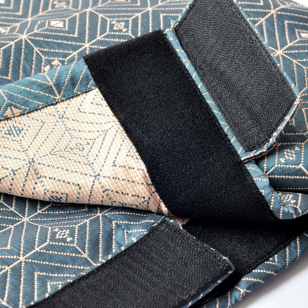 The TENANG Jacquard Samping - Teal