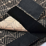 The TENANG Jacquard Samping - Black