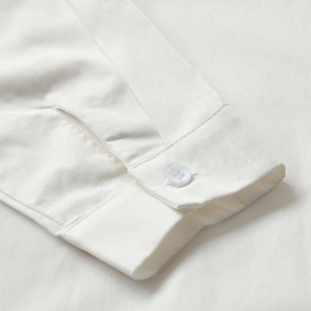 The TENANG Minimalist Shirt - White