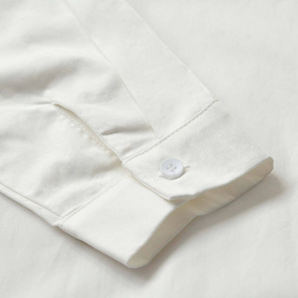 The TENANG Men Minimalist Shirt - White