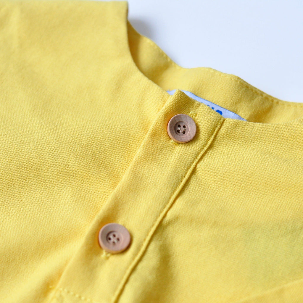 The KITA Short Sleeve Shirt - Yellow