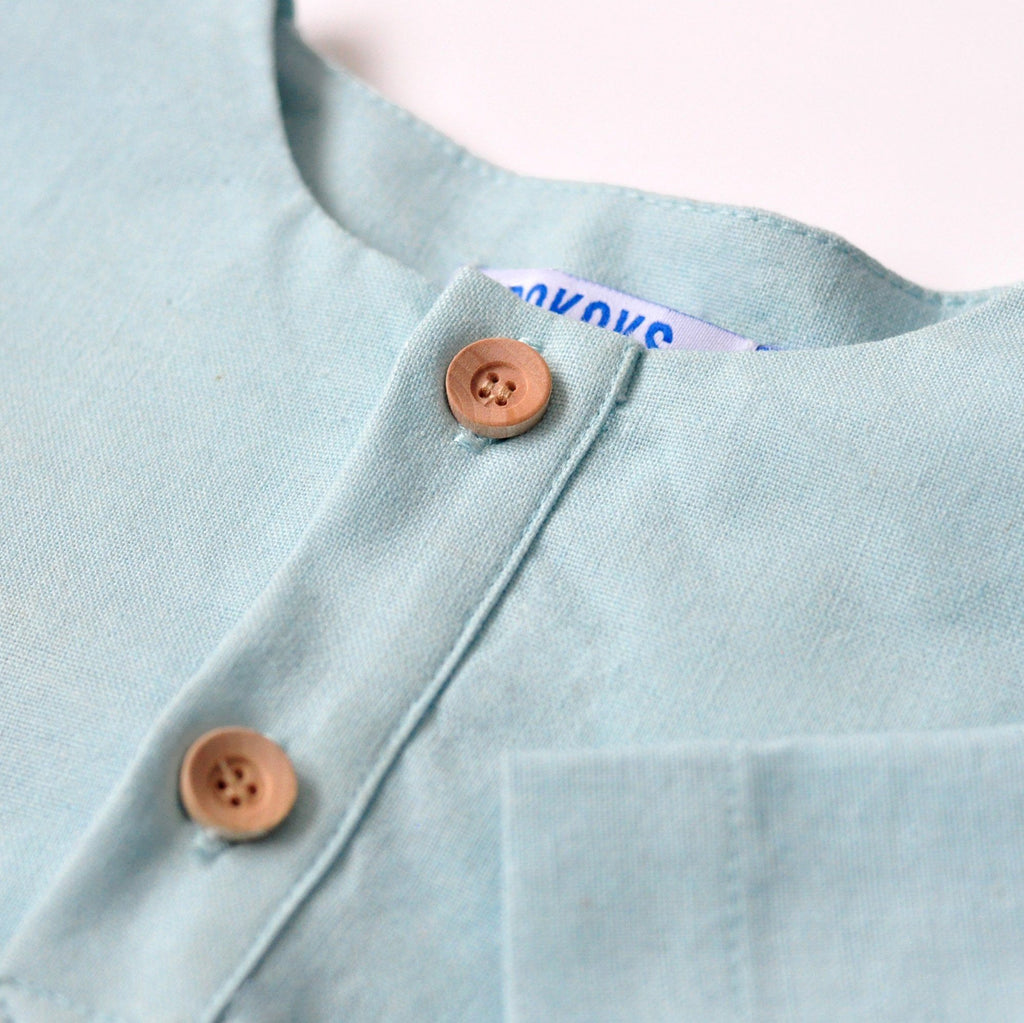The KITA Short Sleeve Shirt - Sky Blue