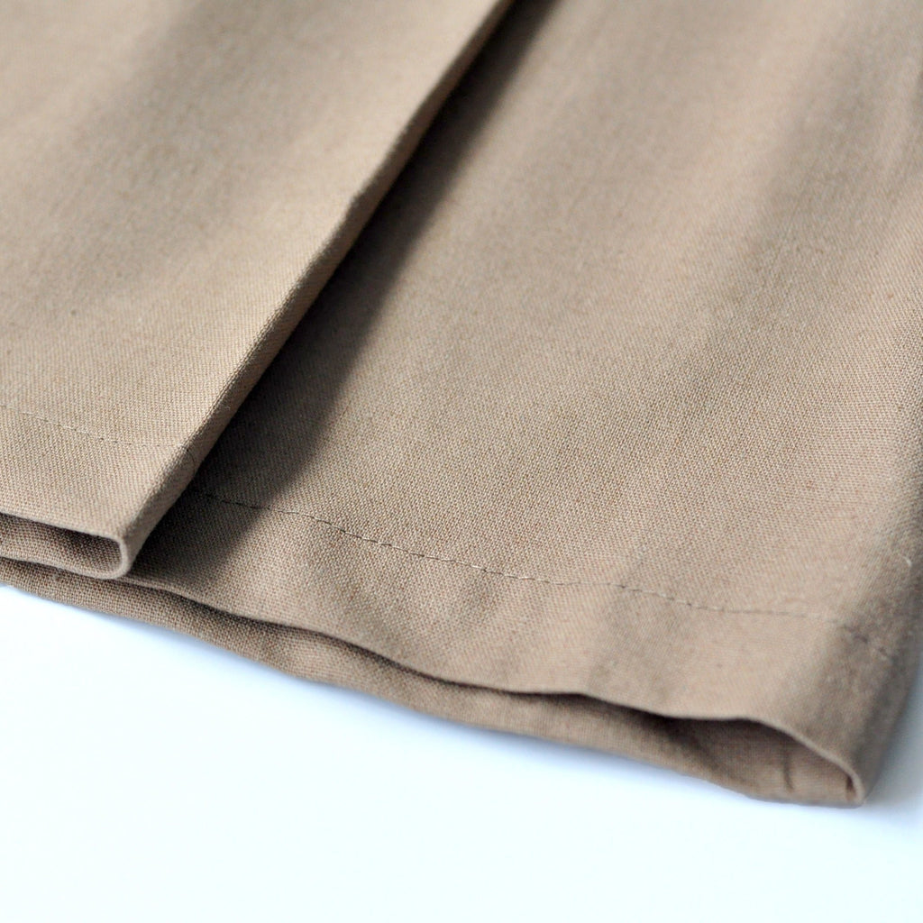 The KITA Folded Skirt - Sand Brown