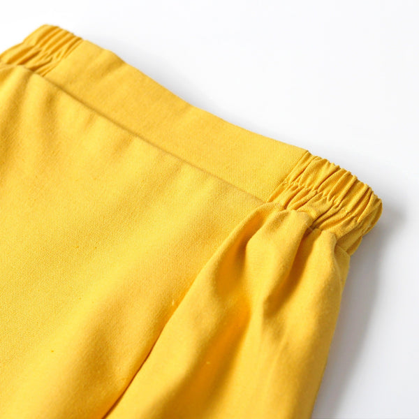 The KITA Folded Skirt - Mustard Yellow