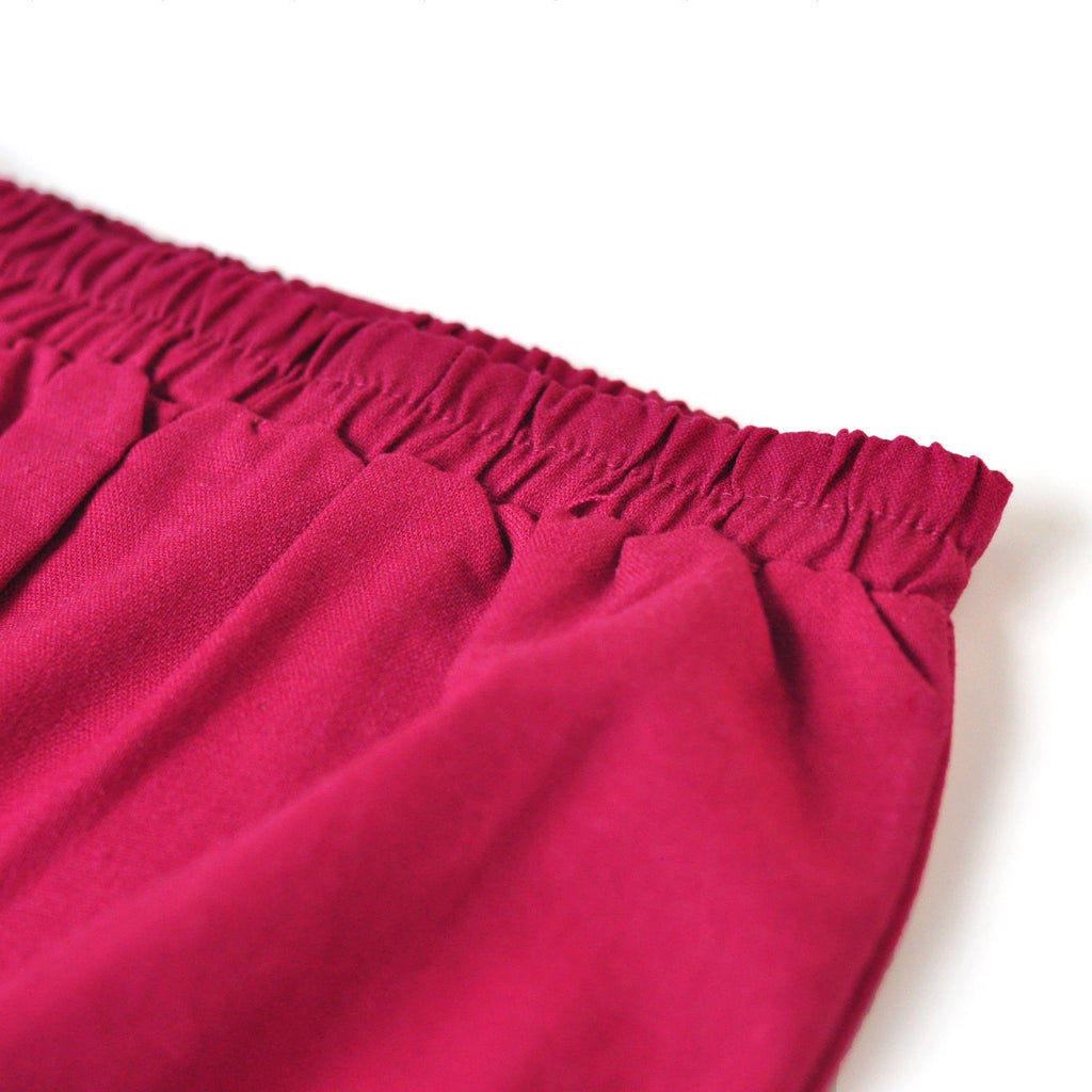 The KITA Babies Bloomers - Berry Red
