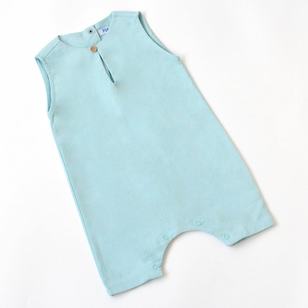 The KITA Babies Jumpsuit - Sky Blue