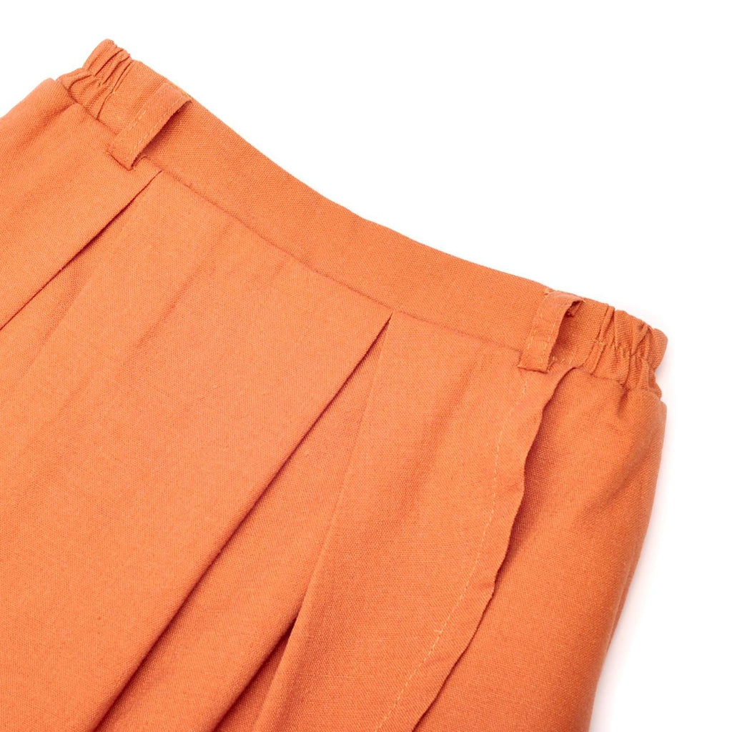 The Pelangi Skirt Pants - Almond Brown