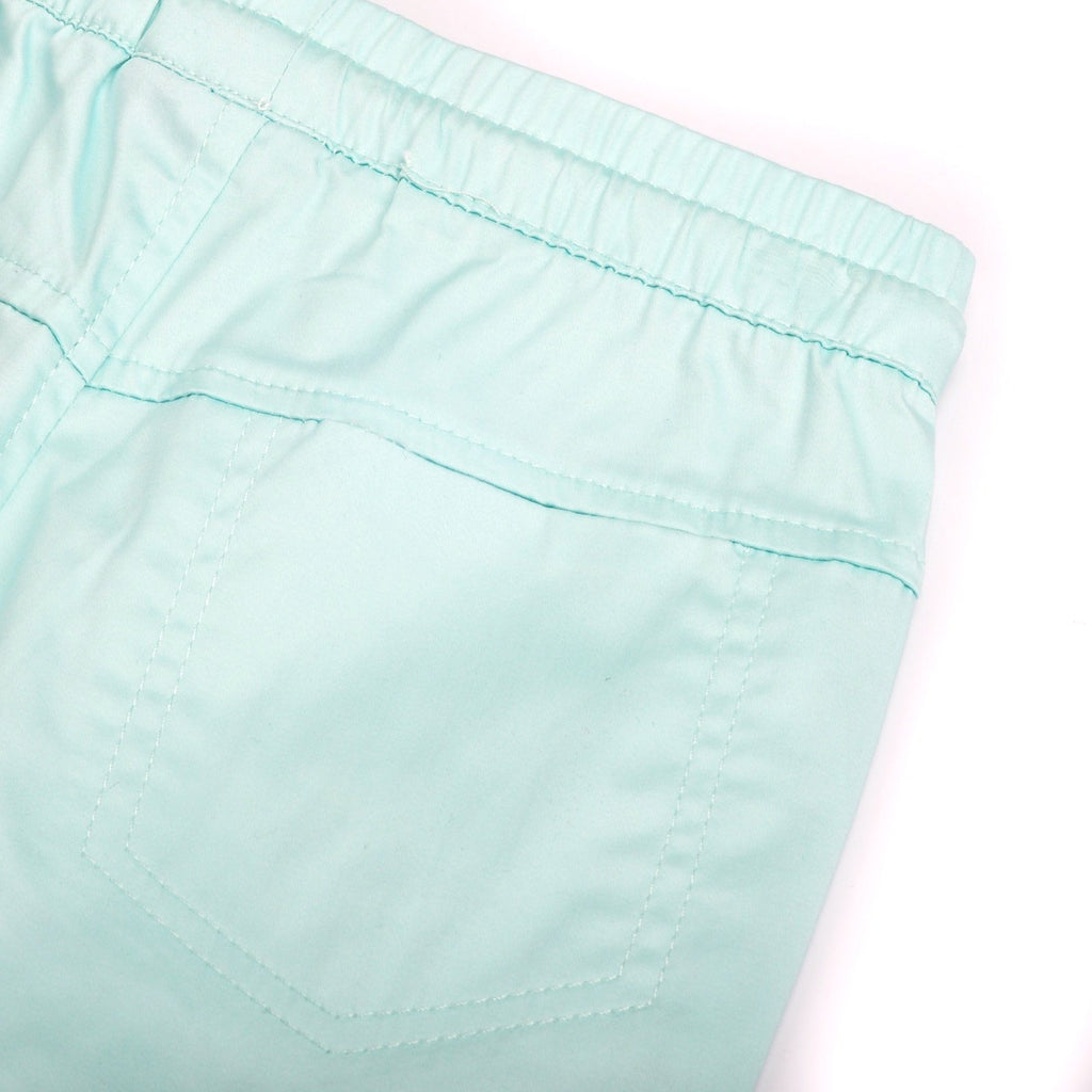 The Pelangi Tapered Pants - Tiffany Blue