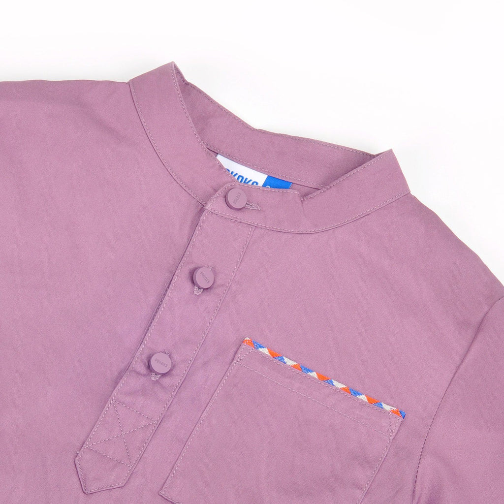 The Pelangi Men Kurta - Light Purple
